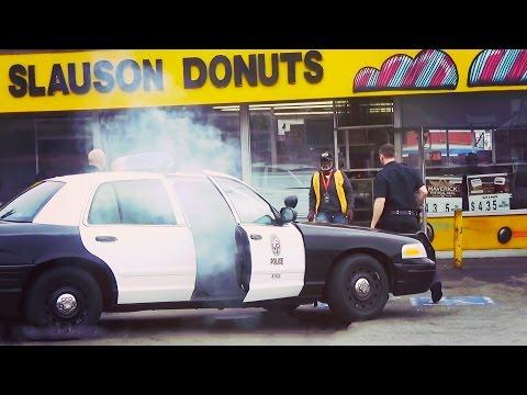 POLICE HOTBOX PRANK