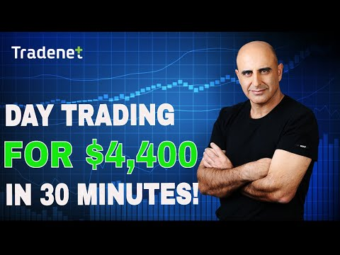How to Make Money Day Trading Stocks – $4,400 in 30 Minutes
