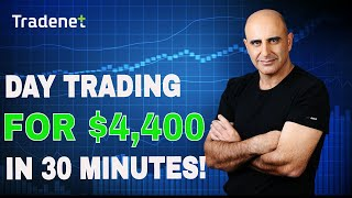 How to Make Money Day Trading Stocks - $4,400 in 30 Minutes