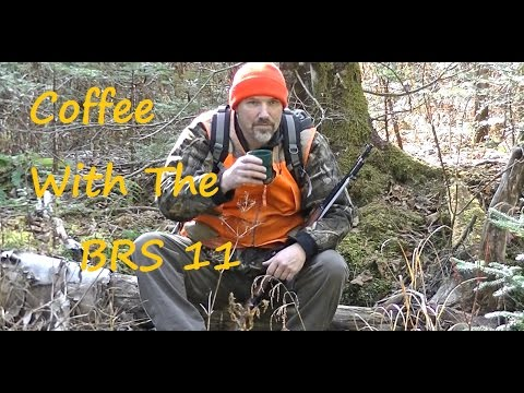 Coffee In The Bush With The BRS 11, Hiking, Camping, Multi Use Stove