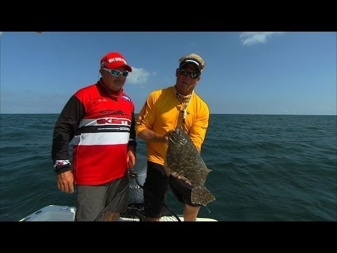 Flounder, Cobia, Tripletail fishing Cape Canaveral Florida