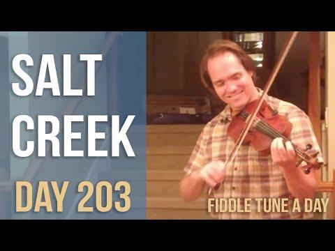 Salt Creek - Fiddle Tune a Day - Day 203