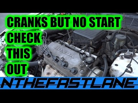"▶️Cranks But Won't Start Honda (CPS) ""How To""🔧"
