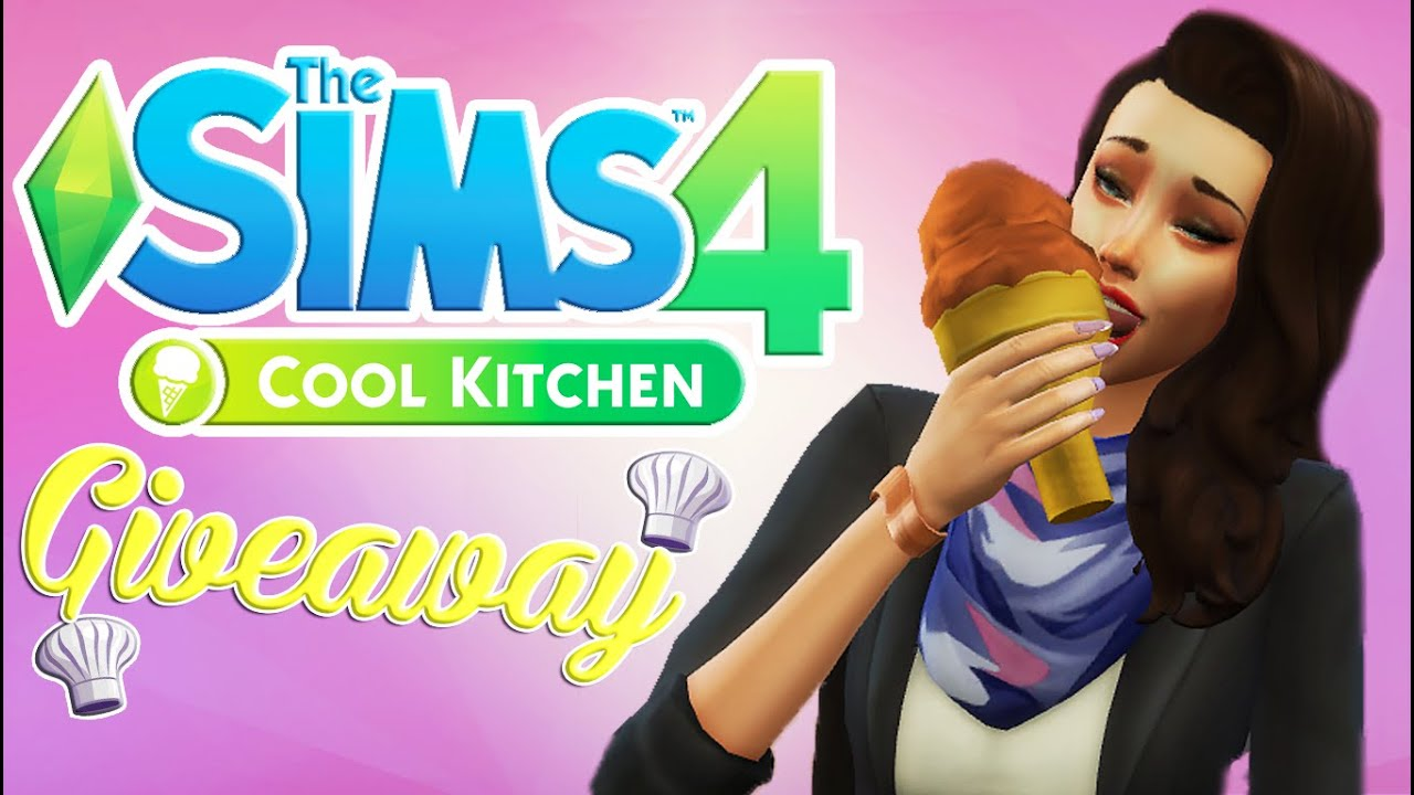 Cool Kitchen Stuff Building Islands Pack Giveaway The Sims 4 Youtube