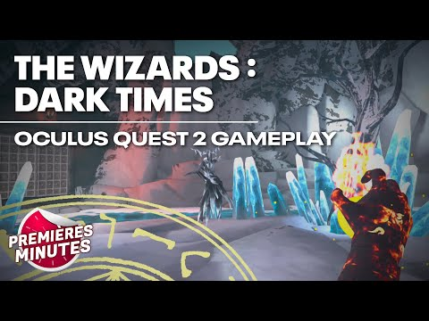 The Wizards : Dark Times - Gameplay Oculus Quest | Quest 2