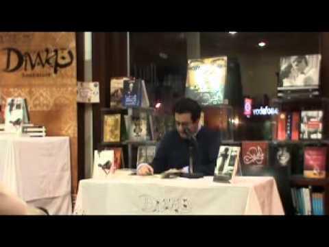 Hisham Matar book signing event at Diwan Bookstore