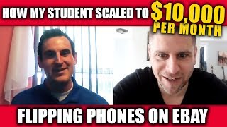 How Dan Scaled To $10,000/month Flipping Phones On Ebay (Student Success Story)