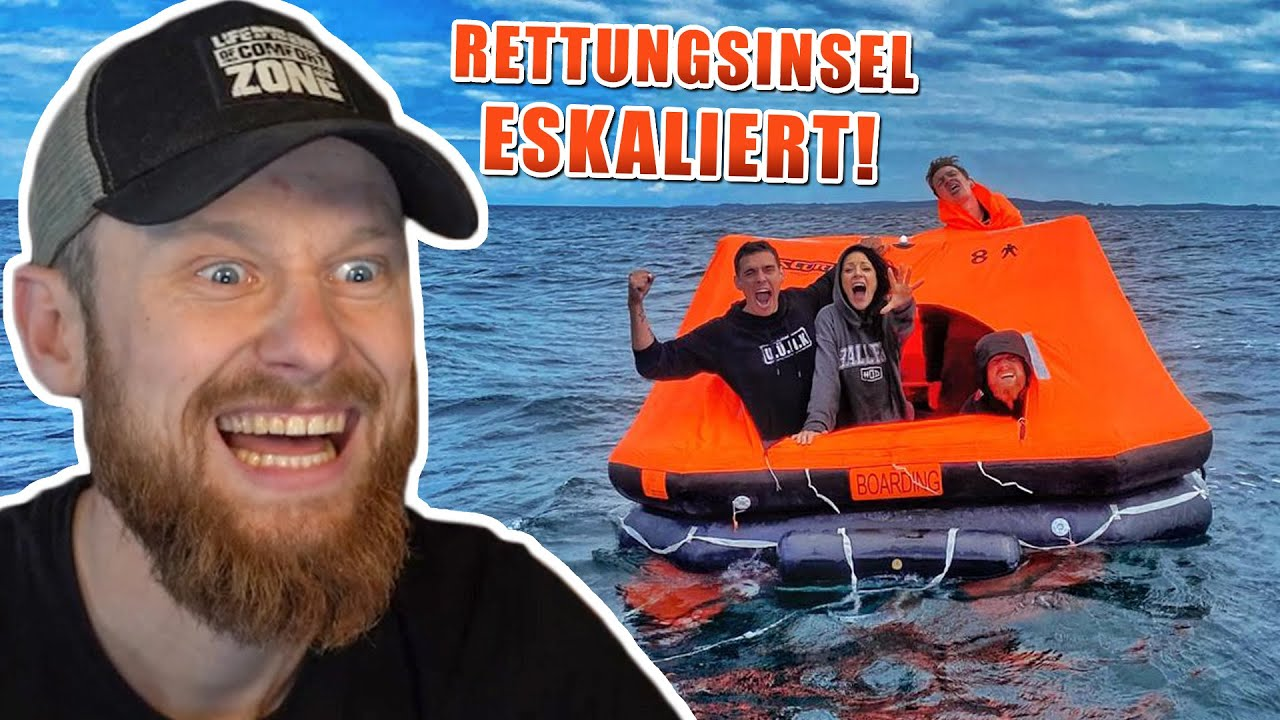 AUSGESETZT mit RETTUNGSINSEL | Fritz Meinecke reagiert auf Survival Mattin