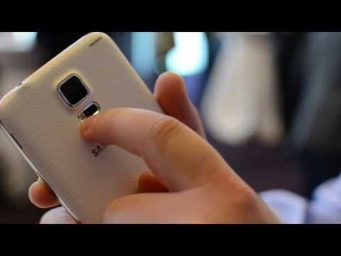 VIDEO Samsung Galaxy S5 MWC 2014