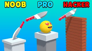 NOOB vs PRO vs HACKER - Slice It All screenshot 1