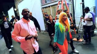Nicki Minaj Ft Cassie - The Boys [Behind The Scenes] [Official Video]