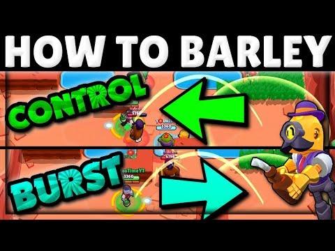 How to Use & Counter Barley! | Control vs Burst! | Barley Tech | Brawl Stars Guide