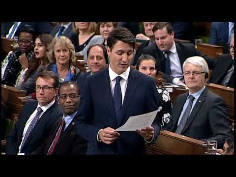 WATCH: Justin Trudeau defends calling a Conservative woman a Neanderthal