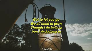 Elephant kind - I Believe in you | lyrics