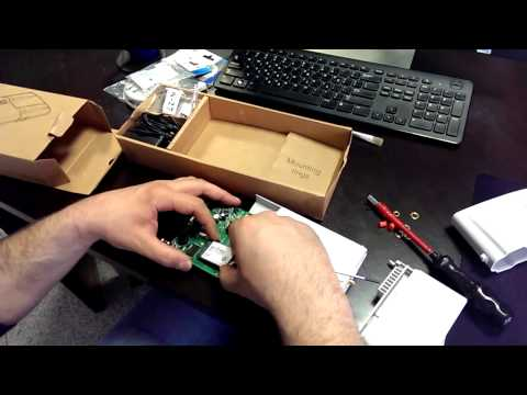 Mikrotik RB912UAG 2HPnD-OUT with Sierra wireless MC7710 - YouTube