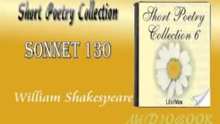 Sonnet 130 William Shakespeare Audiobook Short Poetry