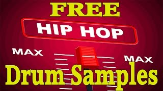 Hip Hop Drum Samples: Download Free Hip Hop Drum Samples!!