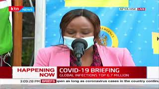 Breaking News: 134 people test Positive for COVID-19 in Kenya, National tally now 2474