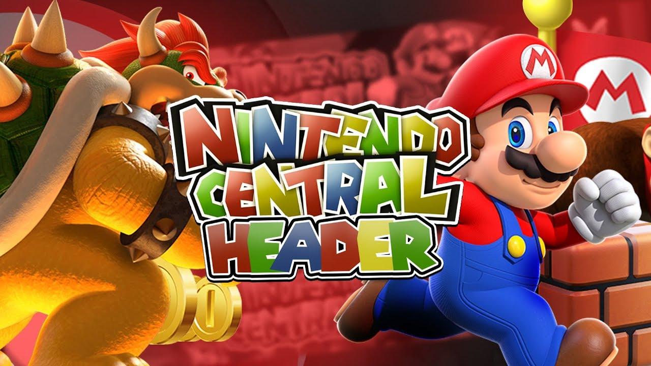 Nintendo Central Youtube Banner Mario Youtube Banner Speed Art Youtube