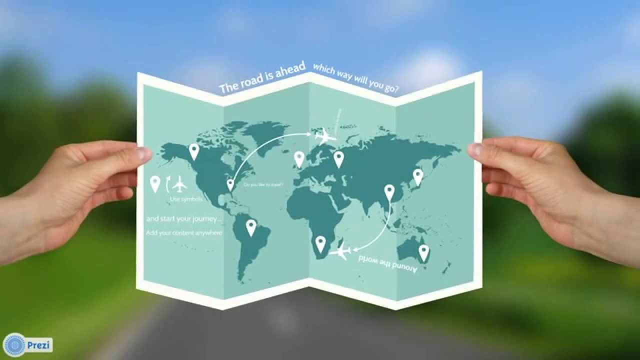 Travel The World Prezi Template Youtube