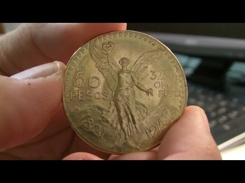 Gold Unboxing - Mexican 50 Peso