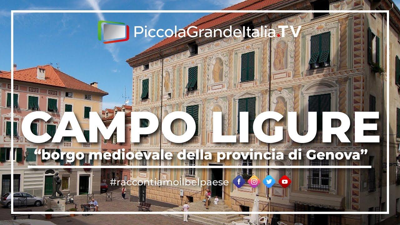 Campo Ligure Piccola Grande Italia Youtube
