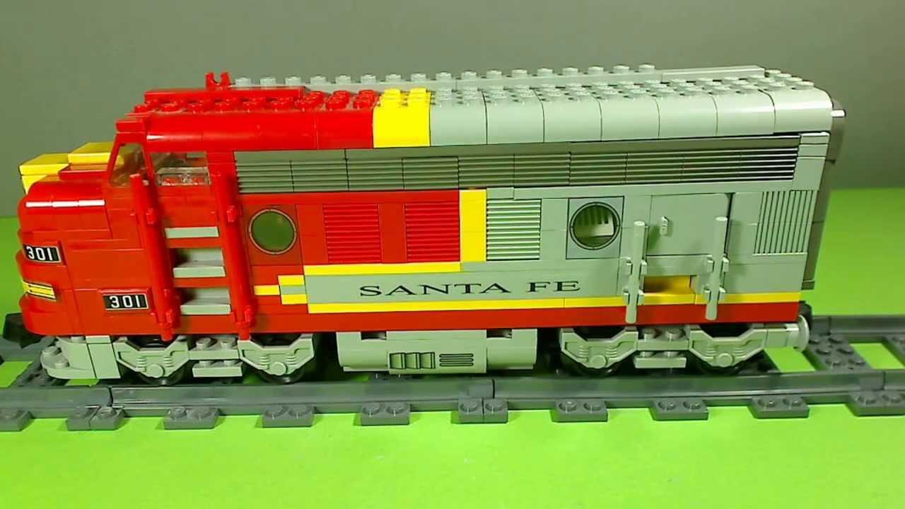 Lego Santa Fe Super Chief 10020 Youtube