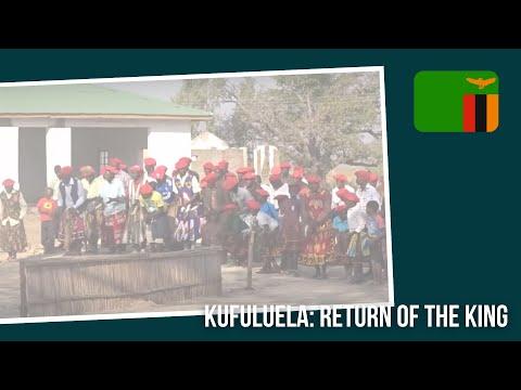 Kufuluela: Return of the King, Welcome Ceremony. Mongu Zambia