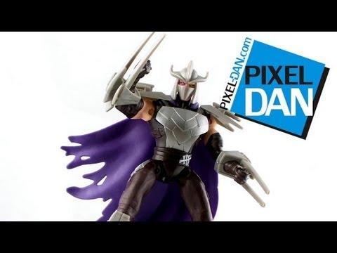 Nickelodeon Teenage Mutant Ninja Turtles Shredder Version 2 Figure Video Review