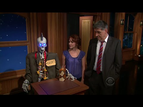 Late Late Show with Craig Ferguson 10/11/2011 Steven Wright, Monica Potter