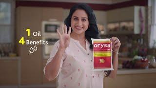 Orysa Rice Bran Oil | 4 Benefits | Anu Hasan