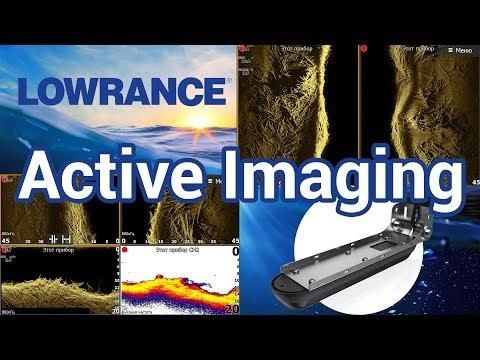 Первое знакомство с Lowrance Active Imaging