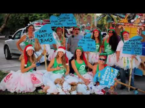 Candy Cane Parade Hollywood Beach Broadwalk Florida Miami Color Street Photography December 2nd 2017