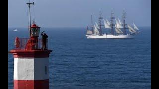 Во Владивосток из кругосветного путешествия прибыли парусники «Паллада» и «Седов»