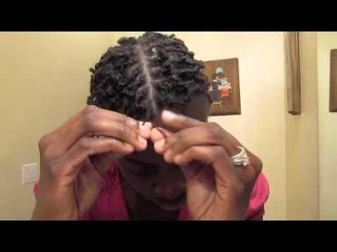 Box Braids With A Twist Short Natural Hair Youtube