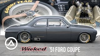 The $1.4 Million '51 Ford Coupe by Wicked Fabrication | For Bruce Leven