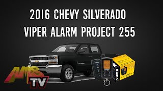 2016 Chevy Silverado Viper Alarm Project 255