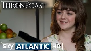Game Of Thrones Arya Stark - Maisie Williams Red Wedding interview