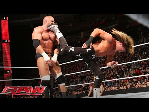 Dolph Ziggler vs. Triple H: Raw, March 14, 2016