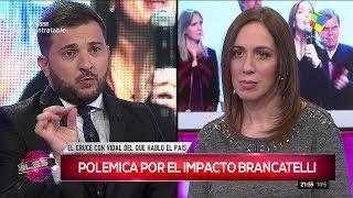 """María Eugenia Vidal en """"Intratables"""", con S.del Moro (completo HD) - 15/08/17"""