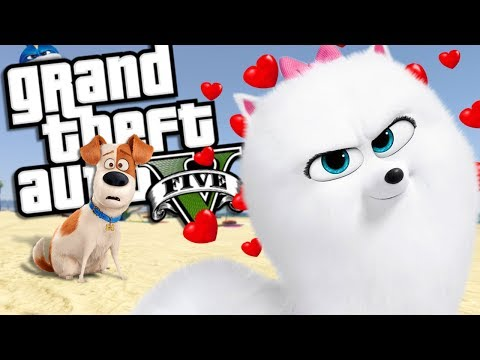The Secret Life of Pets GOES ON A DATE MOD w/ MAX & GIDGET (GTA 5 PC Mods Gameplay)