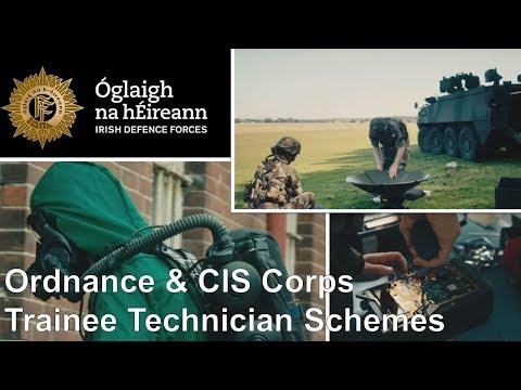 Irish Defence Forces Communications Informations Services & Ordnance Corps