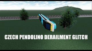 ROBLOX Rails Unlimited | Czech Pendolino Derailment Glitch