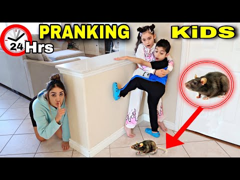 PRANKING OUR KIDS FOR A WHOLE DAY! *Bad Idea*  | Jancy Family