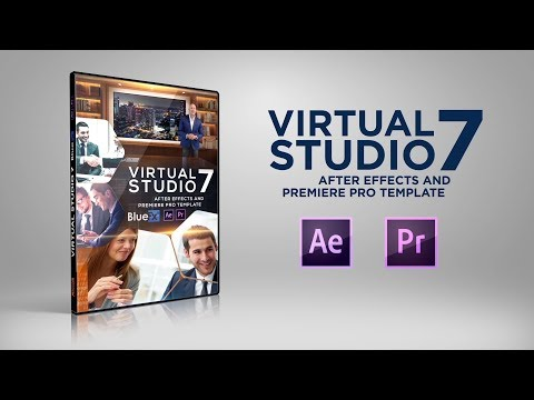 After Effects Template Virtual Studio 7 | Bluefx