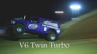 Sand dragracing. Wheelies and Pro Mod 3000hp engines!