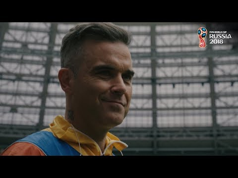 Robbie Williams and Aida Garifullina ready to light up the World Cup Opening Ceremony