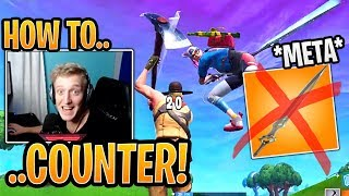 Tfue & Streamers Show *NEW* Meta to COUNTER Infinity Blade! - Fortnite Best and Funny Moments