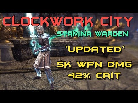 Eso Stamina Dragonknight Pvp Build Clockwork City