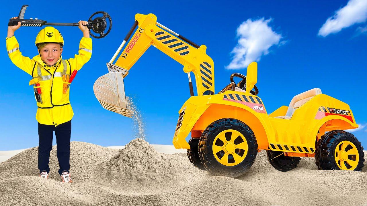 СЕНЯ и его Новый Детский Трактор